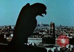 Image of Gargoyles and Grotesques Paris France, 1945, second 2 stock footage video 65675020419