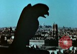 Image of Gargoyles and Grotesques Paris France, 1945, second 8 stock footage video 65675020419