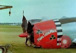 Image of Crash-landed USAAF P-47 Thunderbolt Germany, 1945, second 3 stock footage video 65675020429