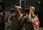 Image of Officers observe maneuvers from USS Elizabeth C. Stanton, AP-69 United States USA, 1942, second 5 stock footage video 65675020465