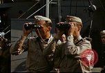 Image of Officers observe maneuvers from USS Elizabeth C. Stanton, AP-69 United States USA, 1942, second 6 stock footage video 65675020465