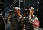 Image of Officers observe maneuvers from USS Elizabeth C. Stanton, AP-69 United States USA, 1942, second 9 stock footage video 65675020465