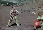 Image of Bayonet drill United States USA, 1942, second 5 stock footage video 65675020467