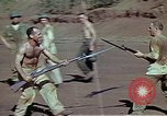 Image of Bayonet drill United States USA, 1942, second 7 stock footage video 65675020467