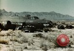 Image of Crash-landed B-17F Flying Fortress airplane El Paso Texas United States USA, 1943, second 3 stock footage video 65675020483