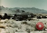 Image of Crash-landed B-17F Flying Fortress airplane El Paso Texas United States USA, 1943, second 5 stock footage video 65675020483