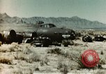 Image of Crash-landed B-17F Flying Fortress airplane El Paso Texas United States USA, 1943, second 8 stock footage video 65675020483