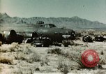 Image of Crash-landed B-17F Flying Fortress airplane El Paso Texas United States USA, 1943, second 9 stock footage video 65675020483