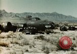 Image of Crash-landed B-17F Flying Fortress airplane El Paso Texas United States USA, 1943, second 10 stock footage video 65675020483