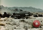 Image of Crash-landed B-17F Flying Fortress airplane El Paso Texas United States USA, 1943, second 11 stock footage video 65675020483