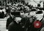 Image of Thomas Woodrow Wilson Washington DC, 1913, second 4 stock footage video 65675020547
