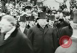 Image of Thomas Woodrow Wilson Washington DC, 1913, second 15 stock footage video 65675020547