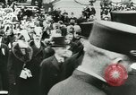 Image of Thomas Woodrow Wilson Washington DC, 1913, second 18 stock footage video 65675020547