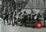Image of Austro-Hungarian soldiers pose with field artillery Austria, 1917, second 6 stock footage video 65675020557