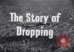 Image of dropping supplies Papua New Guinea, 1944, second 25 stock footage video 65675020560