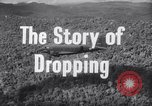 Image of dropping supplies Papua New Guinea, 1944, second 28 stock footage video 65675020560