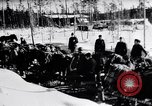 Image of German ski troops in World War 2 Finland, 1943, second 8 stock footage video 65675020588