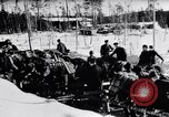 Image of German ski troops in World War 2 Finland, 1943, second 10 stock footage video 65675020588
