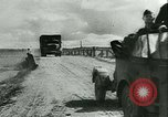 Image of German motorized columns Russia, 1942, second 7 stock footage video 65675020602