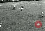 Image of Soccer match Vichy France, 1942, second 10 stock footage video 65675020603