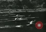 Image of canoe regatta Prague Czechoslovakia, 1943, second 7 stock footage video 65675020607