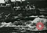 Image of canoe regatta Prague Czechoslovakia, 1943, second 11 stock footage video 65675020607