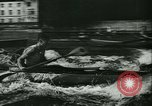 Image of canoe regatta Prague Czechoslovakia, 1943, second 12 stock footage video 65675020607