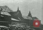 Image of Vidkun Quisling appointed minister-president at Akershus castle Oslo Norway, 1942, second 4 stock footage video 65675020624