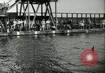 Image of Swimming meet Helsingor Denmark, 1942, second 6 stock footage video 65675020631