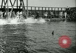 Image of Swimming meet Helsingor Denmark, 1942, second 7 stock footage video 65675020631