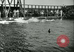 Image of Swimming meet Helsingor Denmark, 1942, second 8 stock footage video 65675020631