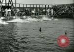 Image of Swimming meet Helsingor Denmark, 1942, second 9 stock footage video 65675020631