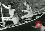 Image of Canoe race Moravia Czechoslovakia, 1942, second 3 stock footage video 65675020632