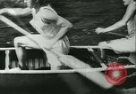 Image of Canoe race Moravia Czechoslovakia, 1942, second 4 stock footage video 65675020632