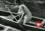 Image of Canoe race Moravia Czechoslovakia, 1942, second 5 stock footage video 65675020632