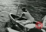 Image of Canoe race Moravia Czechoslovakia, 1942, second 6 stock footage video 65675020632