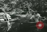 Image of Canoe race Moravia Czechoslovakia, 1942, second 7 stock footage video 65675020632