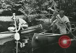 Image of Canoe race Moravia Czechoslovakia, 1942, second 8 stock footage video 65675020632