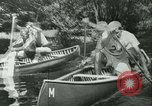 Image of Canoe race Moravia Czechoslovakia, 1942, second 10 stock footage video 65675020632