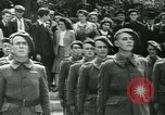 Image of Vichy Legion Tricolore troops Paris France, 1942, second 8 stock footage video 65675020635