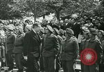 Image of Vichy Legion Tricolore troops Paris France, 1942, second 9 stock footage video 65675020635