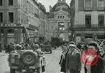 Image of George Patton's troops Rennes France, 1944, second 3 stock footage video 65675020663