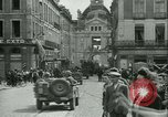 Image of George Patton's troops Rennes France, 1944, second 4 stock footage video 65675020663