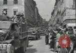 Image of George Patton's troops Rennes France, 1944, second 5 stock footage video 65675020663