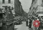 Image of George Patton's troops Rennes France, 1944, second 6 stock footage video 65675020663