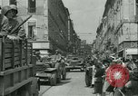 Image of George Patton's troops Rennes France, 1944, second 7 stock footage video 65675020663