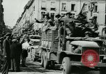 Image of George Patton's troops Rennes France, 1944, second 8 stock footage video 65675020663