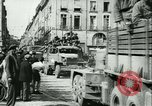Image of George Patton's troops Rennes France, 1944, second 10 stock footage video 65675020663