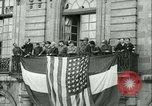 Image of Liberation ceremony Rennes France, 1945, second 3 stock footage video 65675020664