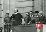 Image of Liberation ceremony Rennes France, 1945, second 6 stock footage video 65675020664